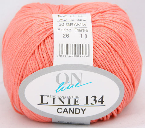 Linie 134 Candy rosa Farbe 26