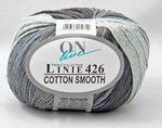 ONline Cotton Smooth Linie 426 grauverlauf